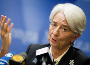Christine Lagarde, investigada: la policía registra el apartamento de la directora del FMI