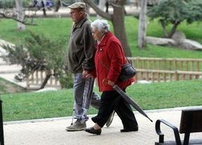 Las pensiones crecen en la Comunitat Valenciana pero se mantienen por debajo de la media española