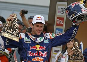Tras sus cuatro victorias en el Dakar de motos, Marc Coma descarta pasarse a los coches