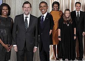 Encuentre las 7 diferencias... o las que haya: las fotos con Obama de Zapatero y la de Rajoy