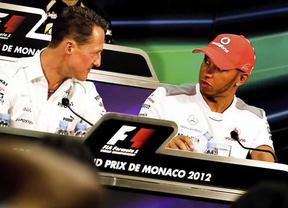 Hamilton 'traiciona' a su McLaren y tomará el relevo a Schuumacher en Mercedes desde 2013