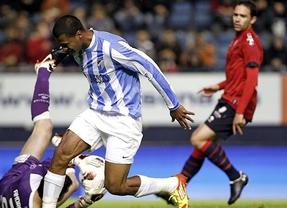 Osasuna, que se acerca a Europa, y Málaga, que se mantiene en 'Champions', 'negocian' un empate (1-1)