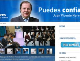 Herrera tendrá por fin perfil en Facebook y Twitter