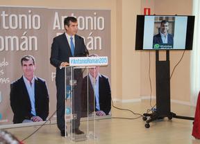 Antonio Román ve 'alcanzable' la mayoría absoluta del PP en el Ayuntamiento de Guadalajara