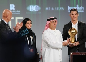 Ronaldo se lleva el 'Globe Soccer', pero no se conforma: quiere batir su récord de goles