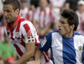 Liga. Los 'leones' devoran fácilmente a 'Hércules' (3-0) y entran en puestos europeos