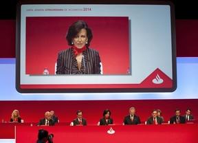 El Banco Santander gana 4.361 millones hasta septiembre, un 32% más