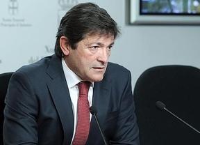 Javier Fernández, presidente del Principado de Asturias, pone el broche de oro a un año de presentaciones de nuestro libro