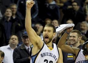 Marc Gasol está como nunca: lleva a 'sus' Grizzlies a ser el mejor equipo de la NBA