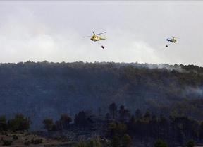 Controlados tres de los cuatro incendios forestales de la región