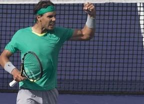 Indian Wells: Nadal defenderá título ante un complicado cuadro con Murray y Federer