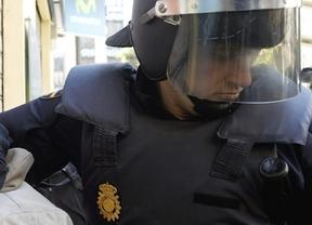 25-S: El policía autor del 'que soy compañero, coño' pierde parte de la visión en un ojo