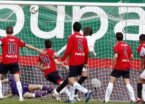 El Rayo se pega un festín ante Osasuna (6-0); el Espanyol empata con la Real y Getafe y Betis ganan a Sporting y Villarreal
