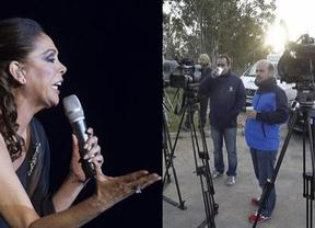 Máxima expectación ante la posibilidad de que Isabel Pantoja entre en prisión antes del domingo