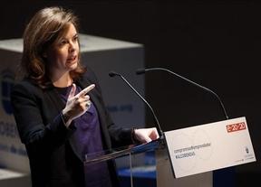 Alta repercusión mediática de la intervención de la vicepresidenta Soraya Sáenz de Santamaría en el acto de 'Emprendedores 2020' y Diariocrítico