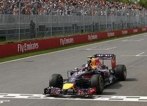 Se acaba la dictadura de los Mercedes en Canadá pero sólo para Red Bull y Ricciardo: Alonso, sexto