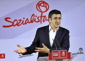 Patxi López asegura que el PSOE necesita