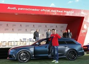 Cristiano Ronaldo con su Audi