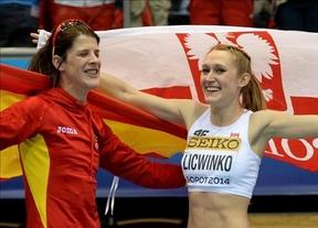 Beitia salva al atletismo español en los Mundiales con un bronce que le supo a poco