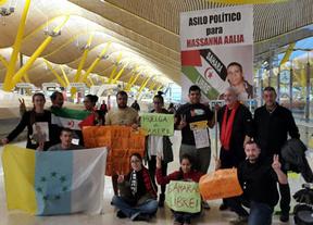 IU Toledo muestra su solidaridad con Hassanna Aalia y los activistas en huelga de hambre en Barajas