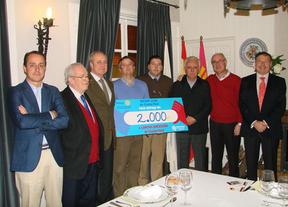 El Club Rotario de Ciudad Real donó 2.000 euros a Cáritas