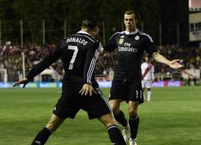 Al Madrid no le cae un Rayo: dos zarpazos de Cristiano y James le dan el triunfo en el siempre incómodo Vallecas (0-2)