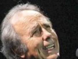 Serrat dio un concierto solidario en el Hospital Garraham