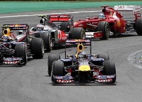 Vettel gana en Singapur, Alonso, tercero, más líder tras el abandono de Hamilton