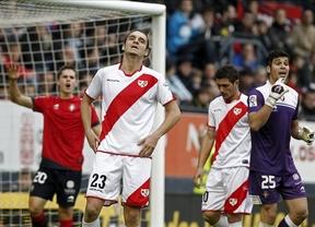 Ni el Rayo ni el Osasuna consiguen meter el balón entre los palos (0-0)