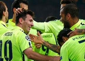 Champions: un doblete de 'Supermessi' despeja las dudas del Barça y lo mete en octavos ante un Ajax ingenuo