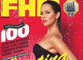 Una sexy Cristina Pedroche reina en el número 100 de la revista 'FHM'