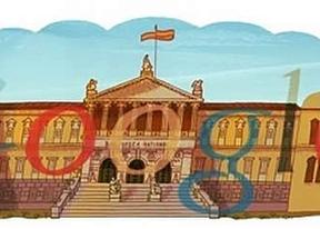 Google celebra los 300 años de apertura al público de la Biblioteca Nacional