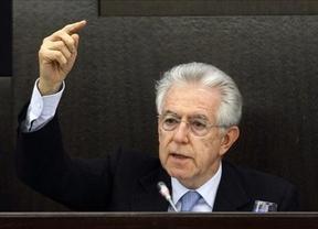Monti no reclama una inyección urgente del BCE pese a bloquear parte de la bolsa