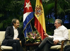 Zapatero se reúne también con Raúl Castro sobre