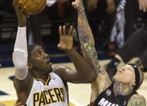 NBA: igualdad y emoción a tope en la finalísima del Este, con empate entre Pacers y Heat (2-2)