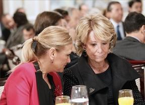 El 'tándem Cifuentes-Aguirre': aplaudido por los suyos y muy criticado por la oposición