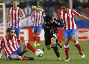 Salvio y Adrián encarrilan el pase del Atlético en un buen primer tiempo contra el Besiktas (3-1)