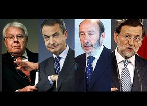 Rajoy ha mantenido contactos 'discretos' con González, ZP y Rubalcaba