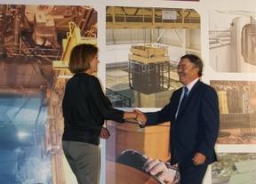 Enresa inaugura un centro en Villar de Cañas para informar sobre el ATC