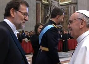 Rajoy volverá a ver al Papa el 15 de abril durante una visita a Roma