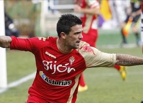 El Gijón consigue sacarle los colores al Vallecano (1-3) gracias al doblete de Nacho Novo y al gol de Barral