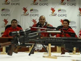Cicpc desmantela fábrica de armas en Miranda