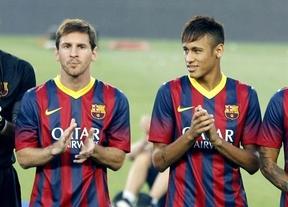El dúo Messi-Neymar arranca metiendo miedo: ganan el Gamper tras golear el Santos 8-0