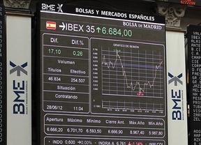 El Ibex y la prima de riesgo, contentos: subidón de un 5,66% y bajada hasta los 474