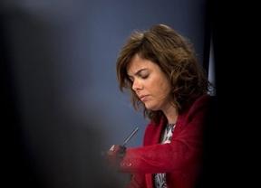 La Fiscalía le echa una mano a la vicepresidenta Soraya por el archivo de su 'escrache'