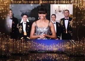 Michelle Obama, la sorpresa de los Oscar: entregó el premio a la mejor película en vídeo