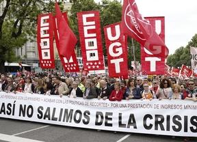 Primero de mayo: Toxo y Méndez piden el fin de los recortes, empleo de calidad y salarios dignos