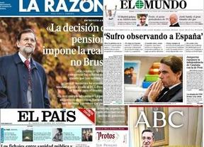 Resumen de Prensa: Declaraciones de Rajoy y Aznar y recuerdo de Felipe González