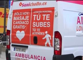 'Ambulancias low cost', los recortes sanitarios con humor gracias a Sanichollo y Médicos del Mundo