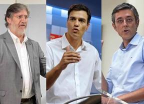 Sánchez, Madina y Tapias celebrarán uno o más debates para orientar el voto en el Congreso del PSOE